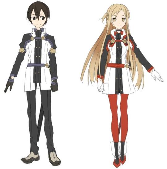 Sword Art Online The Movie: Ordinal Scale - Asuna e Kirito character design (Apec)